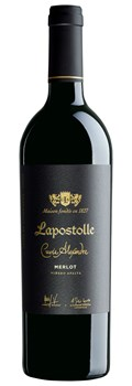 Lapostolle Cuvée Alexandre Organic Merlot Apalta Vineyard 2013