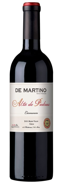 De Martino Single Vineyard Alto de Piedras Carmenere 2017