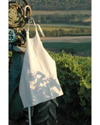 L'Atelier du Vin Tablier toile épaisse blanche 0