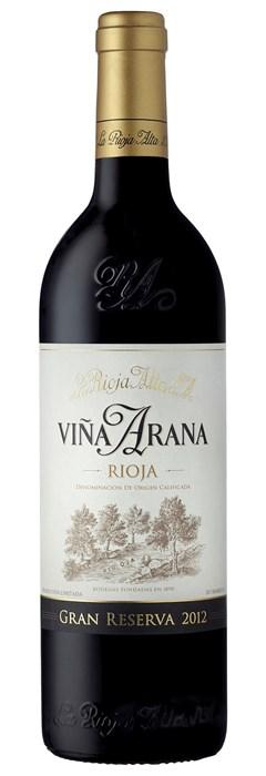 La Rioja Alta Vina Arana Gran Reserva 2012