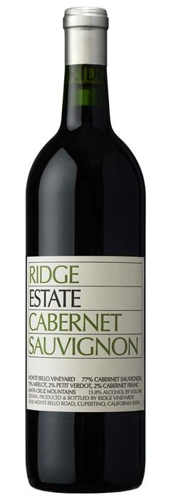 Ridge Vineyards Estate Cabernet 2016
