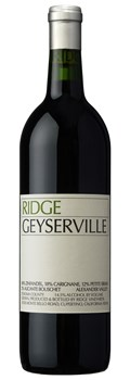 Ridge Vineyards Geyserville 2013