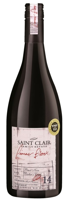 Saint Clair Pioneer Block 14 Doctor's Creek Pinot Noir 2017