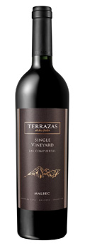 Terrazas de los Andes Single Vineyard Malbec 2012