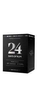 24 Days of Rum Calendrier de l'Avent Spécial Rhum 2019