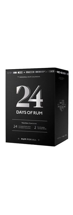 Calendrier Avent Rhum.24 Days Of Rum Calendrier De L Avent Special Rhum 2019
